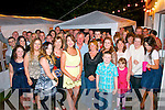 Tara Dore,Blackrock,Tralee had a fab back garden party at her home last Saturday night to celebrate her 25th birthday packed with many friends&family.