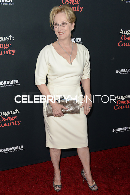 "LOS ANGELES, CA - DECEMBER 16: Premiere Of The Weinstein Company's ""August: Osage County"" held at Regal Cinemas L.A. Live on December 16, 2013 in Los Angeles, California. (Photo by Cliff Robertson/Celebrity Monitor)"