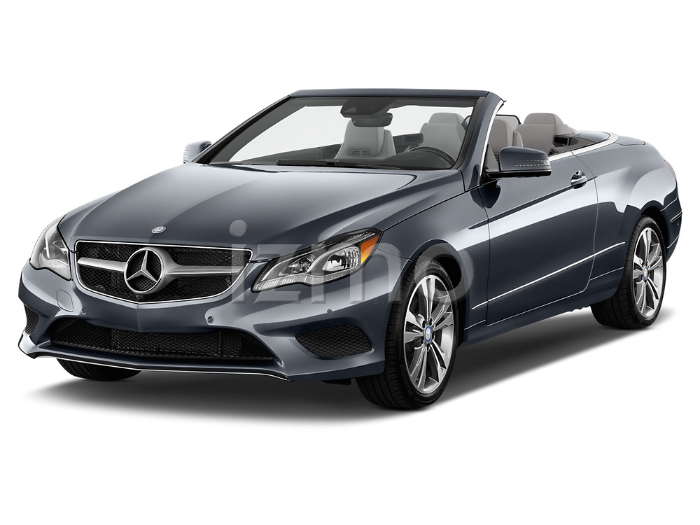 Front three quarter view of a 2014 Mercedes E Class 350 Convertible2014 Mercedes E Class 350 Convertible