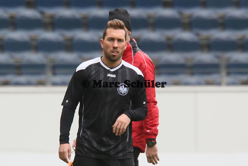 Tobias Weis (Eintracht) - Eintracht Frankfurt Abschlusstraining