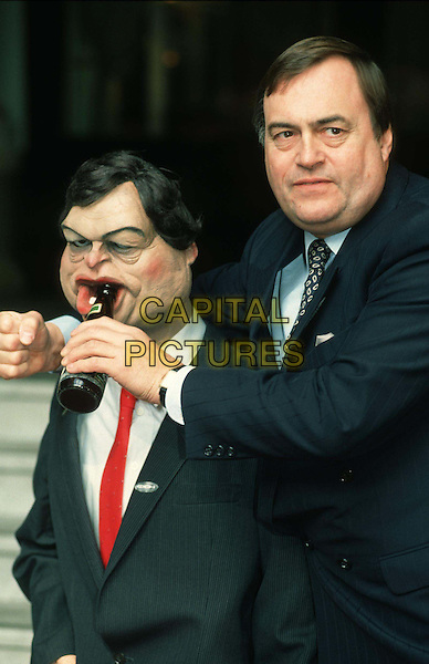 JOHN PRESCOTT.Ref: 007.lookalike dummy, caricature dummy, spitting image, politician, labour, half length, half-length.*RAW SCAN - photo will be adjusted for publication*.www.capitalpictures.com.sales@capitalpictures.com.© Capital Pictures