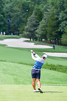 Amy Yang (KOR) watches her tee shot on 2 during Saturday's third round of the 72nd U.S. Women's Open Championship, at Trump National Golf Club, Bedminster, New Jersey. 7/15/2017.<br /> Picture: Golffile | Ken Murray<br /> <br /> <br /> All photo usage must carry mandatory copyright credit (&copy; Golffile | Ken Murray)
