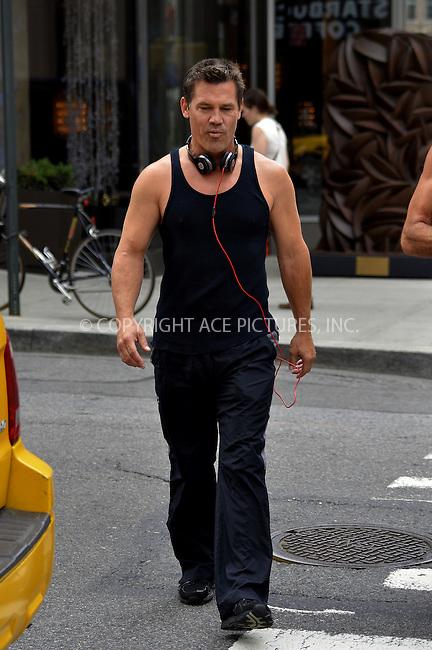 WWW.ACEPIXS.COM<br /> <br /> September 13 2013, New York City<br /> <br /> Josh Brolin walks in Soho on September 13 2013 in New York City<br /> <br /> <br /> <br /> By Line: Curtis Means/ACE Pictures<br /> <br /> <br /> ACE Pictures, Inc.<br /> tel: 646 769 0430<br /> Email: info@acepixs.com<br /> www.acepixs.com