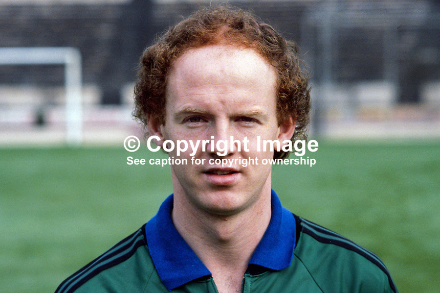 Noel Bortherston, footballer, Blackburn Rovers & N Ireland, 198011000362a..Copyright Image from Victor Patterson, 54 Dorchester Park, Belfast, UK, BT9 6RJ..Tel: +44 28 9066 1296.Mob: +44 7802 353836.Voicemail +44 20 8816 7153.Skype: victorpattersonbelfast.Email: victorpatterson@mac.com.Email: victorpatterson@ireland.com (back-up)..IMPORTANT: If you wish to use this image or any other of my images please go to www.victorpatterson.com and click on the Terms & Conditions. Then contact me by email or phone with the reference number(s) of the image(s) concerned.