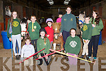 The Kingdom Pony club who held an open day in Faha equastrian centre on Saturday front row l-r: Caoimhe Ahern, Lorna Griffin, Millie Luck, Back row: Shuana Ahern, Patrick Fitzgerald, Lucy Daly, Yvonne Daly, Michaela Ahern, John Ahern, and Caoimhe Griffin