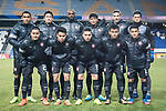 Muangthong United squad pose for team photo during the AFC Champions League 2017 Group E match between  Ulsan Hyundai FC (KOR) vs Muangthong United (THA) at the Ulsan Munsu Football Stadium on 14 March 2017 in Ulsan, South Korea. Photo by Chung Yan Man / Power Sport Images
