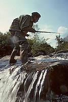 Europe/France/Auvergne/12/Aveyron: Pêche à la truite