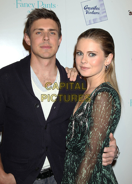LOS ANGELES, CA - JANUARY 28: Chris Lowell, Rose Mclver at the premiere of 'Brightest Star' at the Sundance Cinema on January 28, 2014 in Los Angeles, California.<br /> CAP/ADM/RE<br /> &copy;Russ Elliot/AdMedia/Capital Pictures