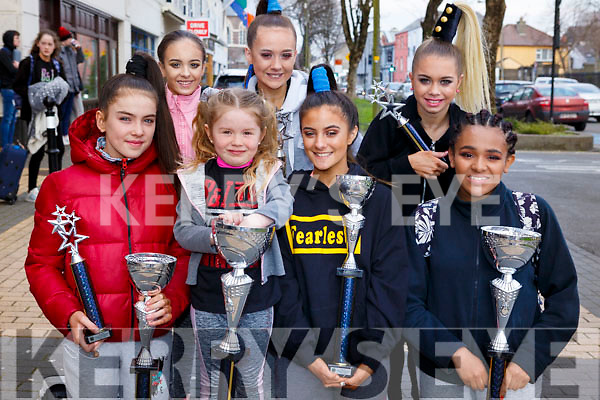 The Cassie Leen School of Dance who co;;ected silverware at the Hip Hop Dance championships held in the Brandon Hotel over the weekend. <br /> Front l-r, Ruby Ryle, Hayley Powell, Roisin Coffey and Sherraya O&rsquo;Connell.<br /> Back l-r, Caoimhe Casey, Layla Collins and Clodagh O&rsquo;Leary.