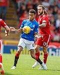 05.08.18 Aberdeen v Rangers: Connor Goldson and Stevie May
