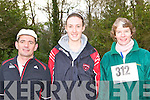 RUNNERS: Aidan O'Sullivan, Olivia Fitzgerald and Nora Flynn who took part in the Gneeveguilla AC road race in Killarney on Saturday.