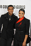 "Janet Jackson (in film) & nephew Austin Brown attending The New York Special Screening of Tyler Perry's next film ""For Colored Girls"" on October 25, 2010 at the Ziegfield Theater, New York City, New York. (Photo by Sue Coflin/Max Photos)"