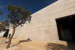 Jerusalem, Israel, Yad Vashem, the Holocaust Martyrs' and Heroes' Authority. The Museum of Holocaust Art designed by Moshe Safdie (2005)<br />