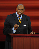 St. Paul, MN - September 3, 2008 -- Former Lieutenant Governor Michael Steele of Maryland, Chairman of GOPAC, speaks on day 3 of the 2008 Republican National Convention at the Xcel Energy Center in Saint Paul, Minnesota on Wednesday, September 3, 2008.Credit: Ron Sachs / CNP.(RESTRICTION: NO New York or New Jersey Newspapers or newspapers within a 75 mile radius of New York City)