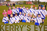 The St Mary's U8's who played at the football blitz in Valentia on Thursday last were front l-r; Kane O'Shea, Cathal O'Shea, Fiona Griffin, Dara O'Shea, Shane Brennan, Odhran O'Shea, Jack O'Connor, Cian O'Donoghue, back l-r; Cliona O'Shea, Ciara Devlin, Patrick Devane, Ferdia Graney, Tadgh O'Connor, Austin Murphy, Dara Devlin, Sive O'Shea, Ryan Sugrue, Eillie O'Connell & Gary Sweeney.