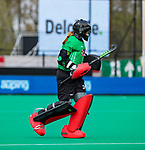 ROTTERDAM - Kelsey Bing (GK) (USA)  tijdens de Pro League hockeywedstrijd dames, Netherlands v USA (7-1)  ..COPYRIGHT  KOEN SUYK