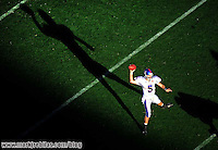 Dec. 31, 2008; Tempe, AZ, USA; Kansas Jayhawks quarterback (5) Todd Reesing throws a pass in the first quarter against the Minnesota Golden Gophers during the Insight Bowl at Sun Devil Stadium. Mandatory Credit: Mark J. Rebilas-US PRESSWIRE