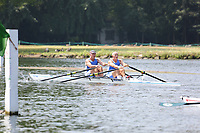 Race: 51  MasF.2x  Quarter-Final<br /> 154  Maidenhead Rowing Club<br /> 157  Hollingworth Lake Rowing Club<br /> <br /> Henley Masters Regatta 2018 - Friday<br /> <br /> To purchase this photo, or to see pricing information for Prints and Downloads, click the blue 'Add to Cart' button at the top-right of the page.