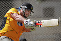 Jesse Ryder in action during the Wellington Firebirds training session at Hawkins Basin Reserve, Wellington, New Zealand on Tuesday, 2 October 2012. Photo: Dave Lintott / lintottphoto.co.nz