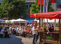 Deutschland, Baden-Wuerttemberg, Markgraefler Land, Heitersheim, Dorffest | Germany, Baden-Wuerttemberg, Markgraefler Land, Heitersheim, village festival