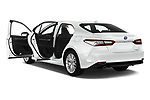 Car images close up view of a 2019 Toyota Camry Premium 4 Door Sedan doors