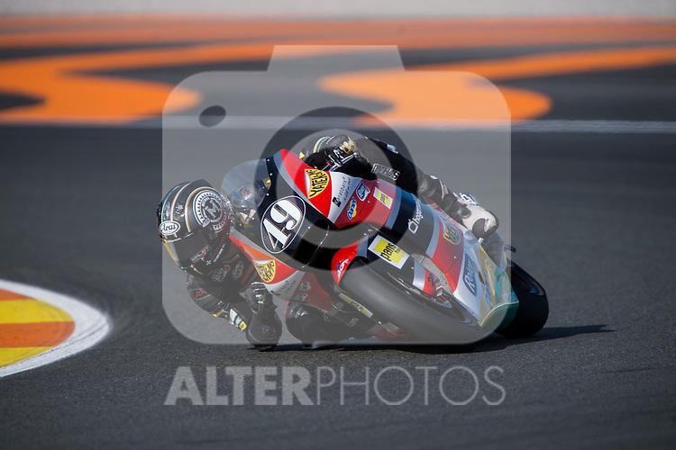 VALENCIA, SPAIN - NOVEMBER 11: Axel Pons during Valencia MotoGP 2016 at Ricardo Tormo Circuit on November 11, 2016 in Valencia, Spain