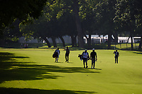 Graeme McDowell (NIR) leads the pack down 5 during round 2 of the 2019 Charles Schwab Challenge, Colonial Country Club, Ft. Worth, Texas,  USA. 5/24/2019.<br /> Picture: Golffile   Ken Murray<br /> <br /> All photo usage must carry mandatory copyright credit (© Golffile   Ken Murray)
