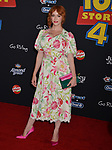 "Christina Hendricks 045 arrives at the premiere of Disney and Pixar's ""Toy Story 4"" on June 11, 2019 in Los Angeles, California."