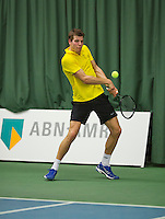 Januari 24, 2015, Rotterdam, ABNAMRO, Supermatch, Bart van de Berg<br /> Photo: Tennisimages/Henk Koster