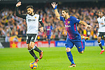 Luis Alberto Suarez Diaz of FC Barcelona runs with the ball during the La Liga 2017-18 match between Valencia CF and FC Barcelona at Estadio de Mestalla on November 26 2017 in Valencia, Spain. Photo by Maria Jose Segovia Carmona / Power Sport Images