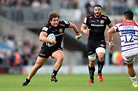 Alec Hepburn of Exeter Chiefs in possession. Gallagher Premiership match, between Exeter Chiefs and Leicester Tigers on September 1, 2018 at Sandy Park in Exeter, England. Photo by: Patrick Khachfe / JMP