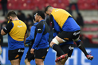 Elliott Stooke of Bath Rugby. Heineken Champions Cup match, between Stade Toulousain and Bath Rugby on January 20, 2019 at the Stade Ernest Wallon in Toulouse, France. Photo by: Patrick Khachfe / Onside Images