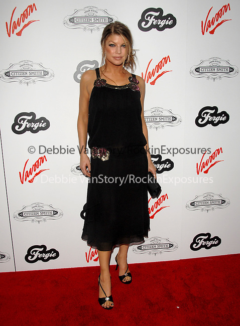Fergie at Fergie's Birthday Party at Citizen Smith Nightclub in Hollywood ,California on March 28, 2006.Copyright 2006 by RockinExposures