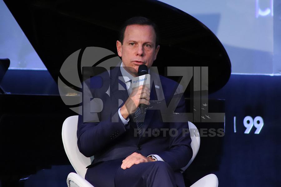SÃO PAULO, SP, 30.10.2019 - ECONOMIA-SP - João Doria, Governador do Estado de São Paulo, participa do Estadão Summit Brasil - O que é Poder?, no Pavilhão da Bienal no Parque do Ibirapuera, em São Paulo, nesta quarta-feira, 30. (Foto Charles Sholl/Brazil Photo Press/Folhapress)