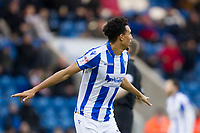 Kurtis Guthrie of Colchester United goal celebrations are cut short as he is penalised for a push on the defender during Colchester United vs Cheltenham Town, Sky Bet EFL League 2 Football at the Weston Homes Community Stadium on 6th January 2018