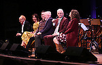 Peter Asher, Carmen Cuscak and Rob Berman, Walter Bobbie, Steve Martin, and Edie Brickell   on stage during 'Bright Star' In Concert at Town Hall on December 12, 2016 in New York City.