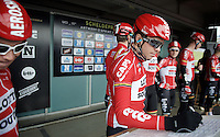 great to see Kris Boeckmans (BEL/Lotto-Soudal) signing in at his home race<br /> <br /> 104th Scheldeprijs 2016