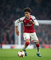Reiss Nelson of Arsenal during the UEFA Europa League group stage match between Arsenal and FC Red Star Belgrade at the Emirates Stadium, London, England on 2 November 2017. Photo by PRiME Media Images.
