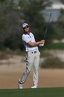 Joachim B. Hansen (DEN) on the 3rd during Round 4 of the Omega Dubai Desert Classic, Emirates Golf Club, Dubai,  United Arab Emirates. 27/01/2019<br /> Picture: Golffile | Thos Caffrey<br /> <br /> <br /> All photo usage must carry mandatory copyright credit (&copy; Golffile | Thos Caffrey)