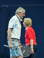 Hilversum, The Netherlands, March 10, 2016,  Tulip Tennis Center, NOVK, Peter Blaas and Patricia Blaas-Van Den Heuvel<br /> Photo: Tennisimages/Henk Koster