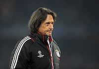 FUSSBALL   CHAMPIONS LEAGUE   SAISON 2011/2012   ACHTELFINALE HINSPIEL FC Basel - FC Bayern Muenchen      22.02.2012 Dr. Hans Wilhelm Mueller Wohlfahrt (FC Bayern Muenchen)