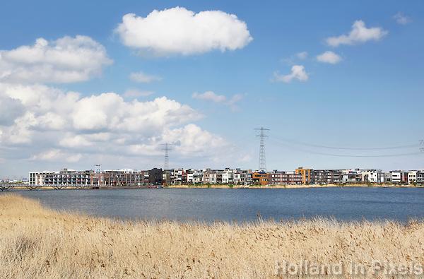 Nederland Amsterdam  2016 04 12.  Steigereiland bij IJburg. Foto Berlinda van Dam / Hollandse Hoogte