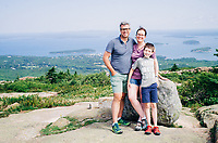 Acadia - Cadillac Mountain, Carroll Homestead, Seawall, Wonderland, Bass Harbor