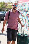 Spanish player Pepe Reina arrives to concentration of Spanish football team at Ciudad del Futbol de Las Rozas before the qualifying for the Russia world cup in 2017 August 29, 2016. (ALTERPHOTOS/Rodrigo Jimenez)