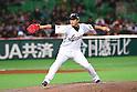 Tetsuya Utsumi (JPN), .MARCH 3, 2013 - WBC : .2013 World Baseball Classic .1st Round Pool A .between Japan 5-2 China .at Yafuoku Dome, Fukuoka, Japan. .(Photo by YUTAKA/AFLO SPORT)