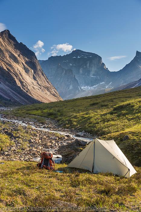 Arrigetch Peaks, Xanadu peak, Gates of the Arctic National Park, Alaska