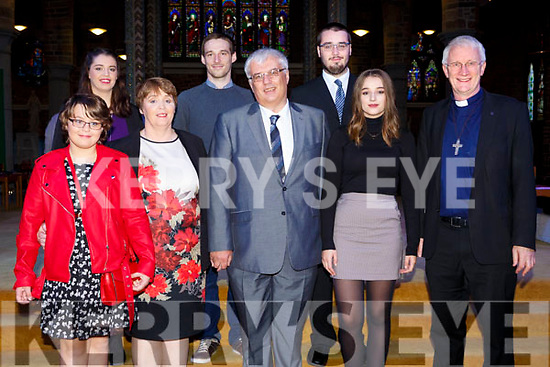 ORDINATION to the Permanent Diaconate of Denis Kelleher, Tralee,  by Bishop Ray Browne at St. John's Church on Saturday with family Ruth Kelleher, Aileen Kelleher, Denis Kelleher, Elle Kelleher, Marie Kelleher, Eoin Kelleher, Donagh Kelleher with  Bishop Ray Browne
