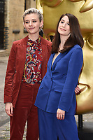 LONDON, UK. April 28, 2019: Ellen Robertson & Charly Clive at the BAFTA Craft Awards 2019, The Brewery, London.<br /> Picture: Steve Vas/Featureflash