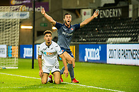 Courtney Baker-Richardson of Swansea City in action during the Checkatrade 2rd round match between Swansea City U21's and Charlton Athletic at the Liberty Stadium, Swansea on Tuesday December 05 2017