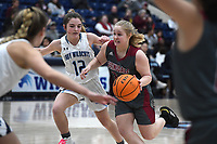 Springdale's Chloe Joyner drives to the lane against Har-Ber Tuesday Jan. 14, 2020 at Har-Ber. Visit http://bit.ly/2Rm1Z2e for a gallery from the game. (NWA Democrat-Gazette/J.T. Wampler)